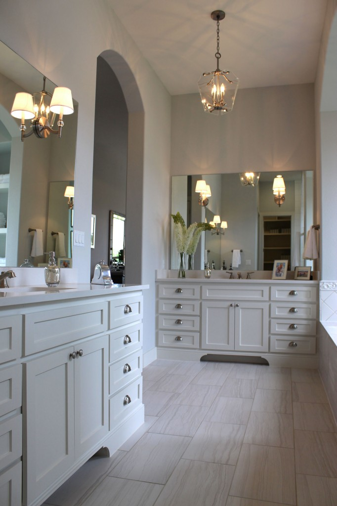 Shaker Style Master Bathroom 1 Burrows Cabinets