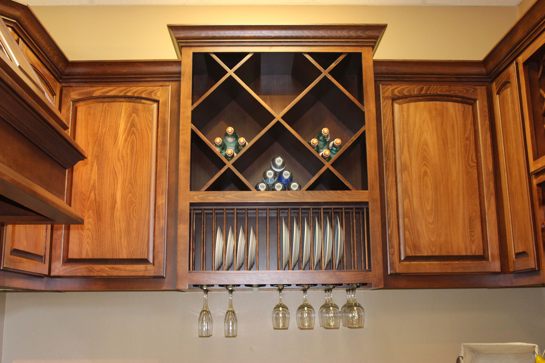 Custom wood plate racks stemware racks and big x wine cubes : wood plate rack - Pezcame.Com