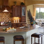 Burrows Cabinets kitchen cabinet with Classic wood range hood