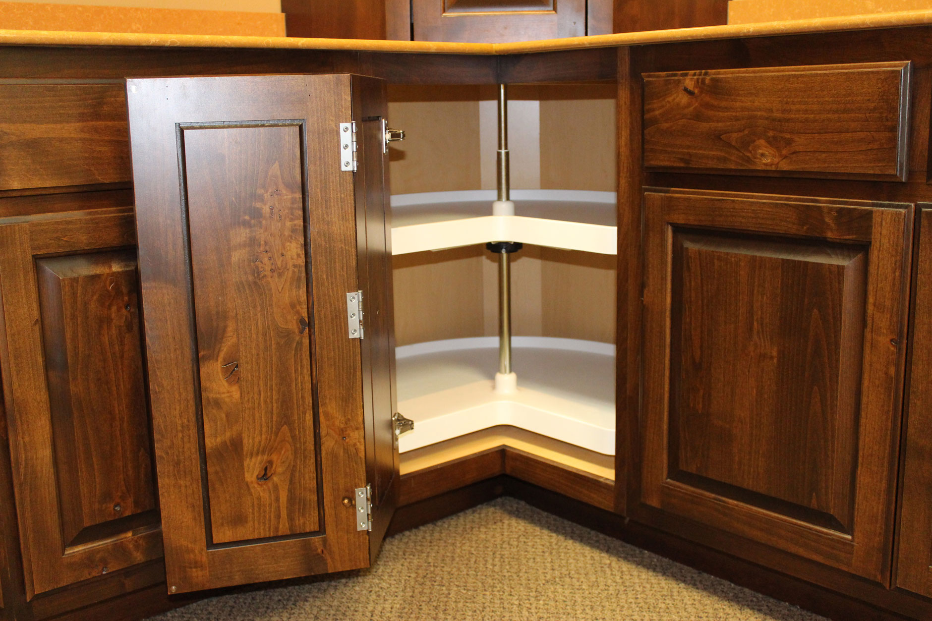 Lazy Susans Burrows Cabinets Central Texas Builder