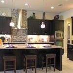 Burrows Cabinets kitchen in Beech Rye with Briscoe style doors