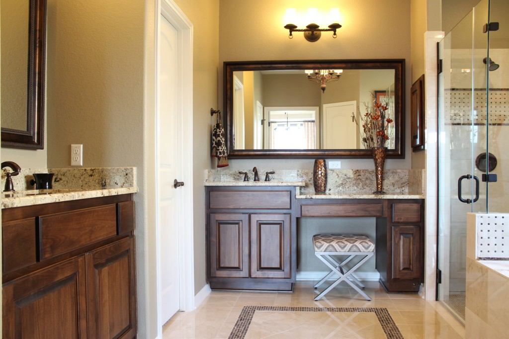 Bathroom Cabinets Direct master bathroom cabinets with chair space and alder cabinets