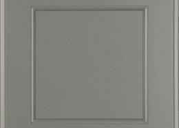 Burrows Cabinets' flat panel door in Ash