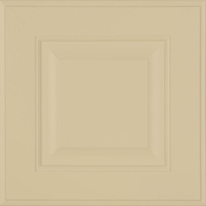 Burrows Cabinets' 5-piece raised panel door in Crema
