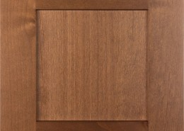 Burrows Cabinets' Shaker door in Clear Alder - Bali