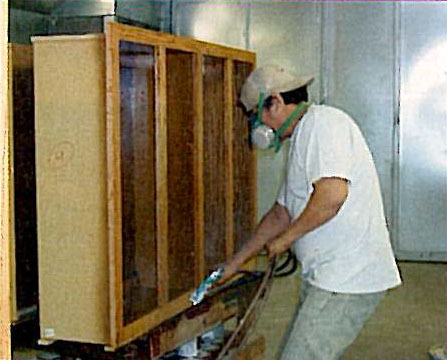 Burrows Cabinets Finishing Cabinets 1990s
