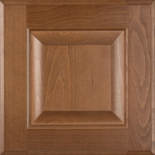 Burrows Cabinets' Beech 5-piece raised panel door in Bali