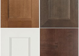 Burrows Cabinets' Briscoe, Terrazzo, Kensington and SoCo door styles