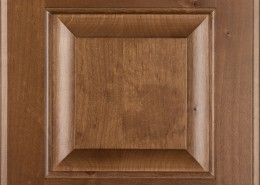 Burrows Cabinets' Clear Alder raised panel door in Bali