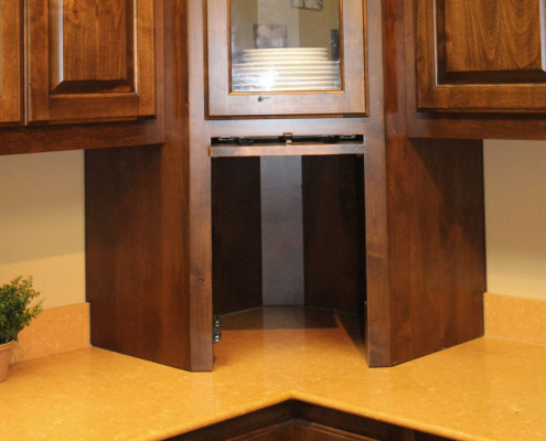 Appliance Garage Corner Burrows Cabinets Central
