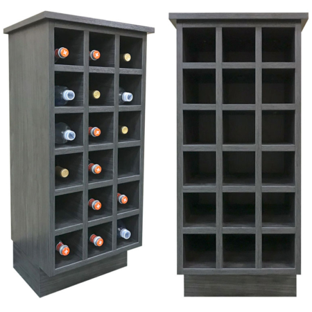 Burrows Cabinets EVRGRN cube wine rack