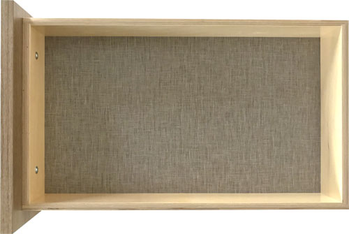 EVRGRN Drawer Box with Linen interior