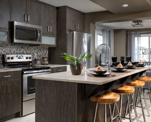 Burrows Cabinets EVRGRN Kitchen