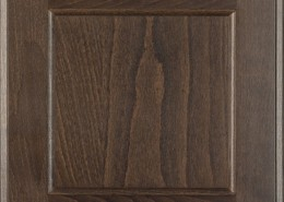 Burrows Cabinets flat panel door in Beech - Driftwood
