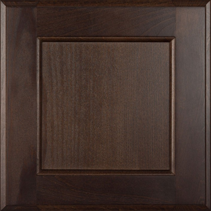 Burrows Cabinets flat panel door in Beech - Kona