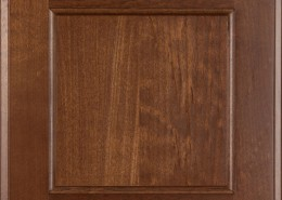Burrows Cabinets flat panel door in Clear Alder - Ambrose