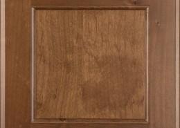 Burrows Cabinets flat panel door in Clear Alder - Bali