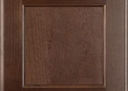 Burrows Cabinets flat panel door in Clear Alder - Barbado