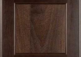 Burrows Cabinets flat panel door in Clear Alder - Kona