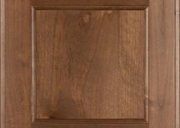 Burrows Cabinets' flat panel door in Knotty Alder Bali