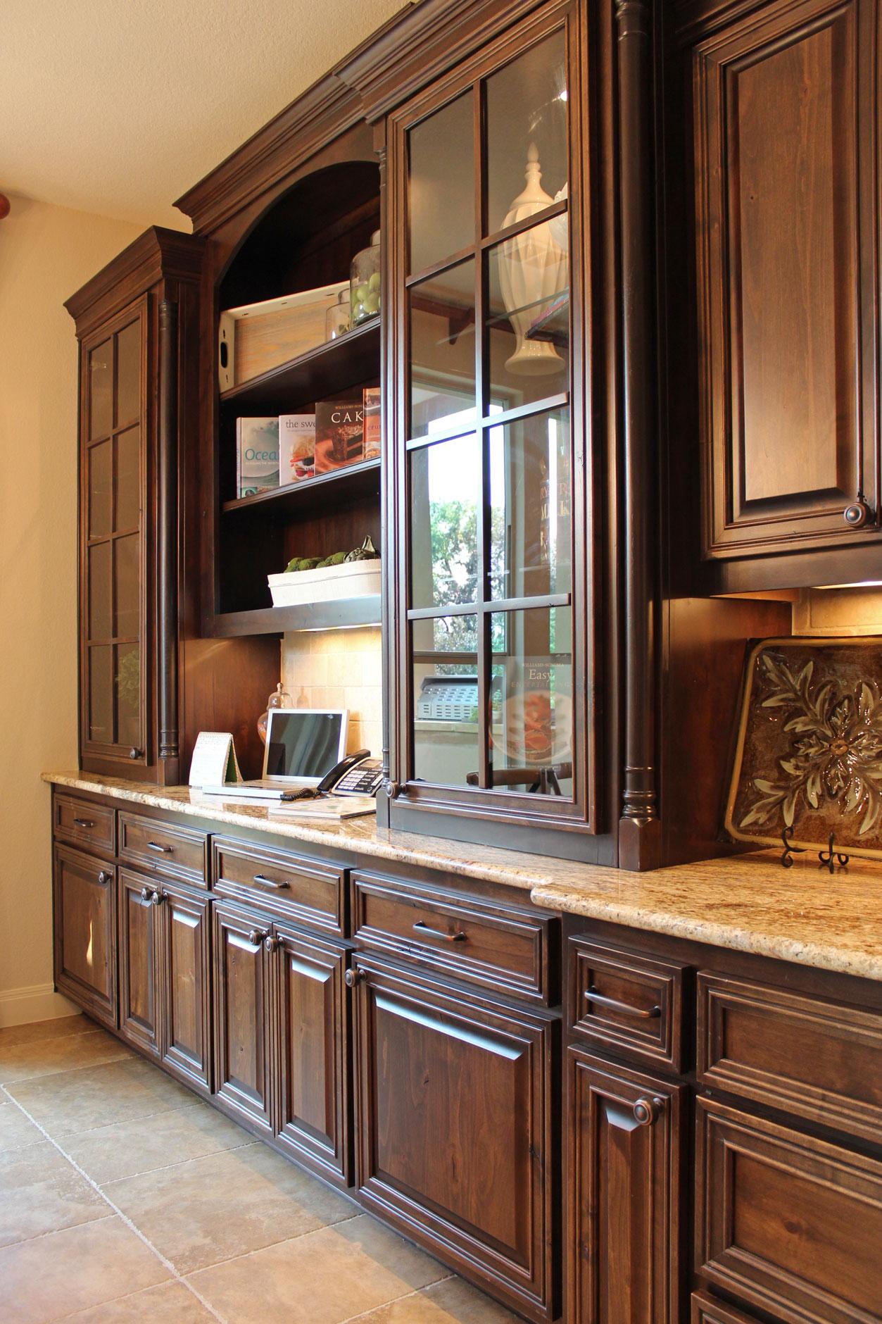 kitchen hutch 1 kitchen hutch cabinets Kitchen Hutch 1 Burrows Cabinets central Texas builder direct custom cabinets