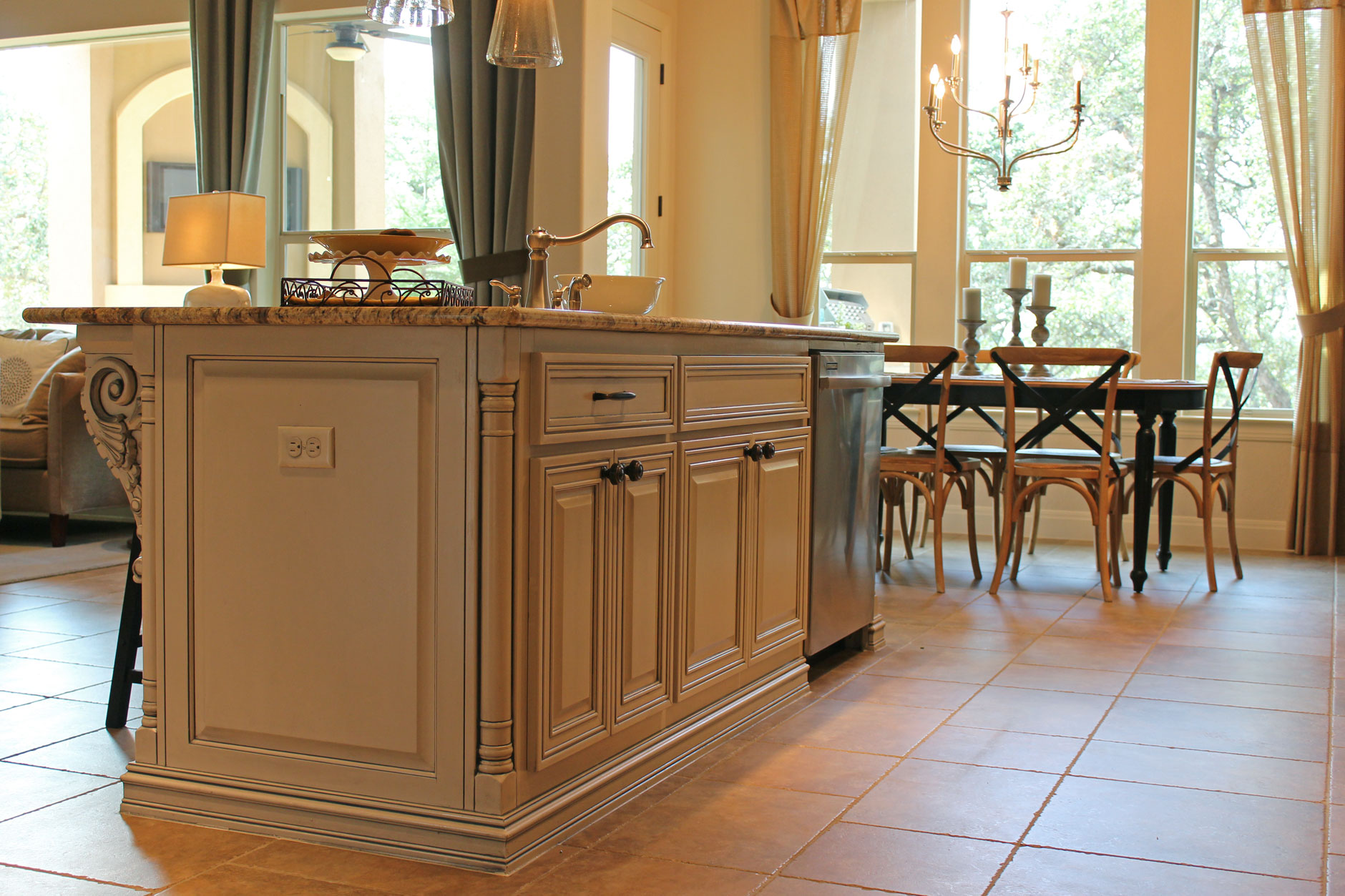 kitchen island from cabinets island 12 burrows cabinets central builder 5070