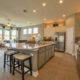 Burrows Cabinets' kitchen with raised panel doors in bone
