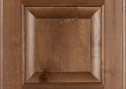 Burrows Cabinets' knotty alder raised panel door in Bali