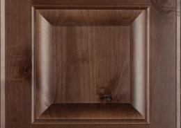 Burrows Cabinets' knotty alder raised panel door in Barbado