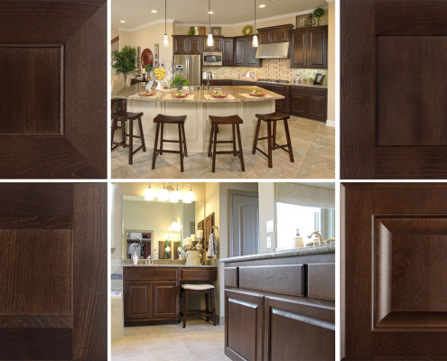 Burrows Cabinets' Kona Stain photos